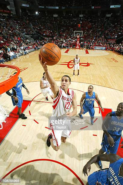 Kevin Martin of the Houston Rockets shoots the ball against the Orlando Magic on January 22 2011 at the Toyota Center in Houston Texas NOTE TO USER...