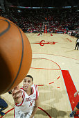 Kevin Martin of the Houston Rockets shoots the ball against the Indiana Pacers on February 20 2010 at the Toyota Center in Houston Texas NOTE TO USER...