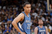 Kevin Martin of the Minnesota Timberwolves during a game against the Golden State Warriors on April 14 2014 at Oracle Arena in Oakland California...