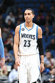 Kevin Martin of the Minnesota Timberwolves is seen during the game against the Denver Nuggets on January 2 2016 at Target Center in Minneapolis...