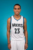 Kevin Martin of the Minnesota Timberwolves pose for portraits during 2015 Media Day on September 28 2015 at Target Center in Minneapolis Minnesota...