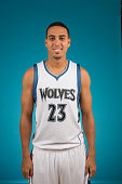Kevin Martin of the Minnesota Timberwolves poses for a portrait during 2014 NBA Media Day on September 29 2014 at the Minnesota Timberwolves and Lynx...