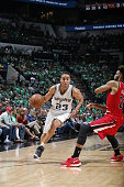 Kevin Martin of the San Antonio Spurs drives to the basket against the Portland Trail Blazers on March 17 2016 at the ATT Center in San Antonio Texas...