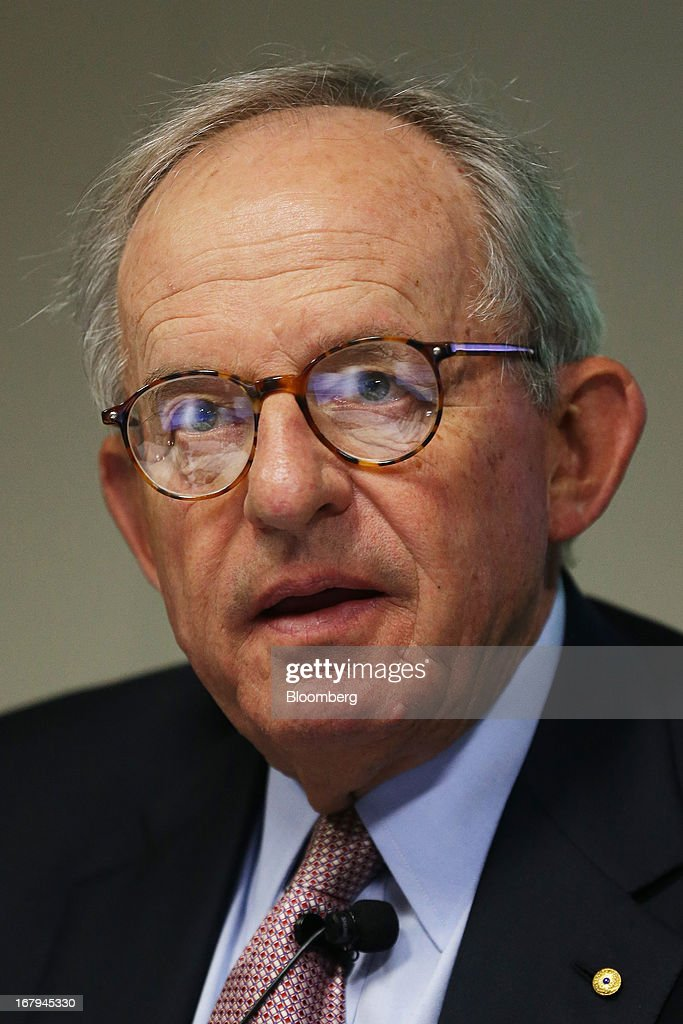 Kevin McCann, chairman of Macquarie Group Ltd., speaks during a news conference in Sydney, Australia, on Friday, May 3, 2013. Macquarie, Australia's biggest ... - kevin-mccann-chairman-of-macquarie-group-ltd-speaks-during-a-news-in-picture-id167945330