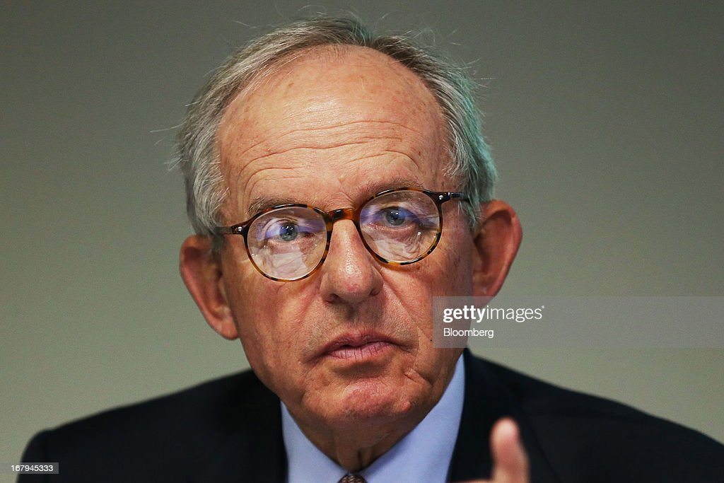 Kevin McCann, chairman of Macquarie Group Ltd., speaks during a news conference in Sydney, Australia, on Friday, May 3, 2013. Macquarie, Australia's biggest ... - kevin-mccann-chairman-of-macquarie-group-ltd-speaks-during-a-news-in-picture-id167945333
