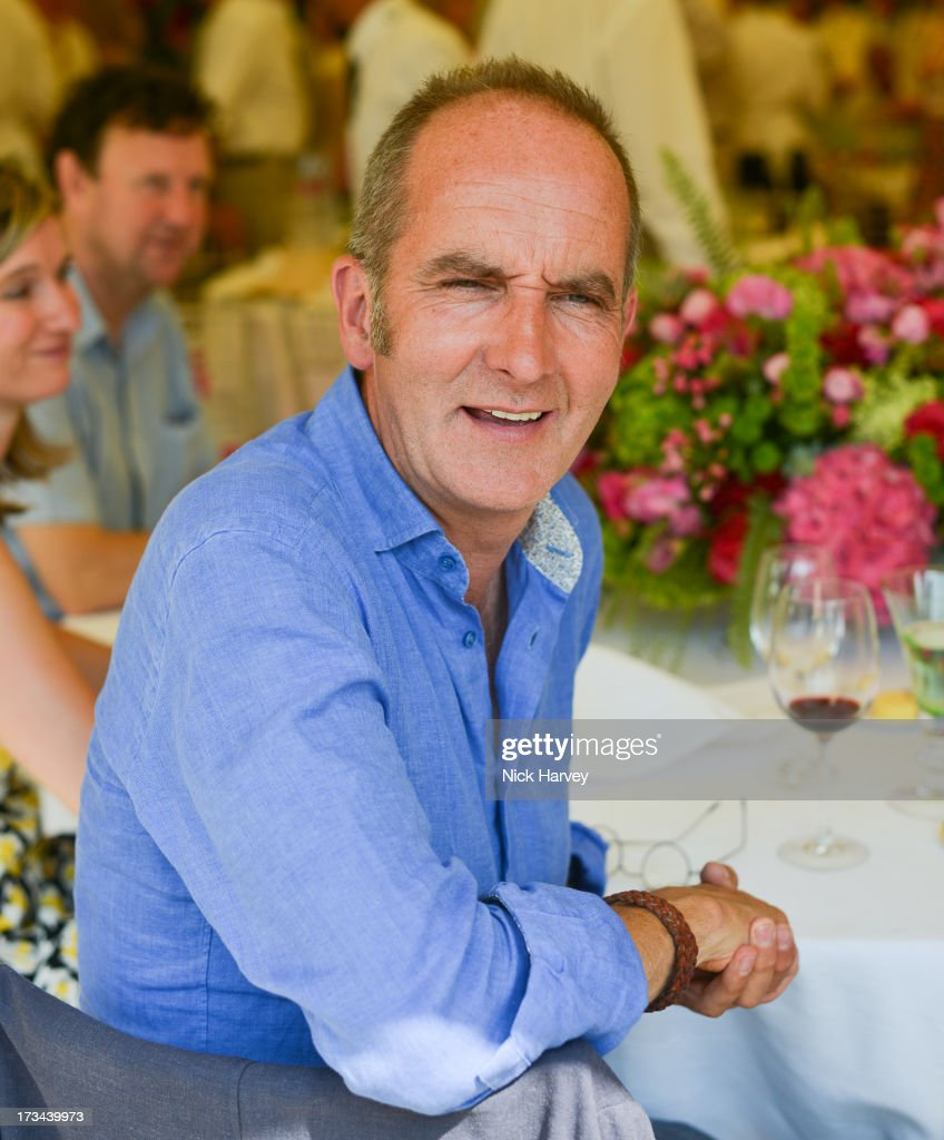 Kevin McCloud attends the Cartier Style et Luxe at Goodwood Festival of Speed on July 14, 2013 in Chichester, England.