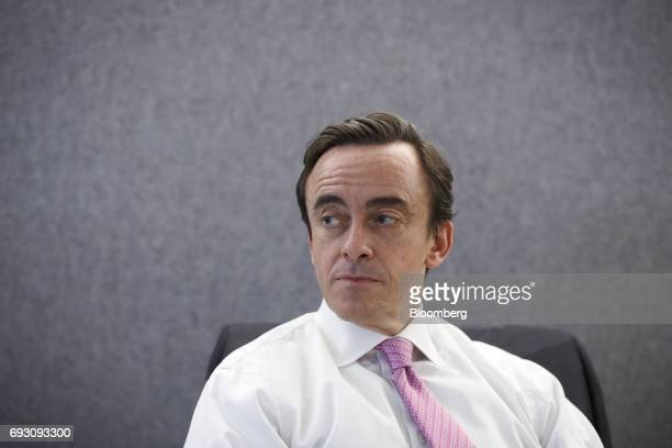 Kevin McCreadie president and chief investment officer of AGF Investments Inc listens during an interview in Toronto Ontario Canada on Tuesday June 6...
