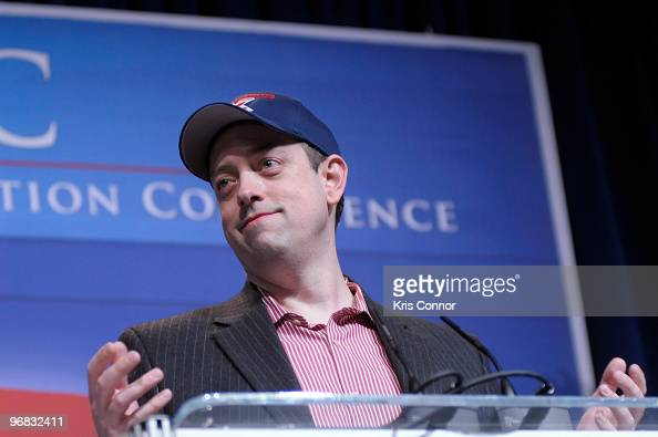 Kevin McCullough speaks during the Conservative Political Action Conference at the Marriott Wardman Park Hotel on February 18 2010 in Washington DC
