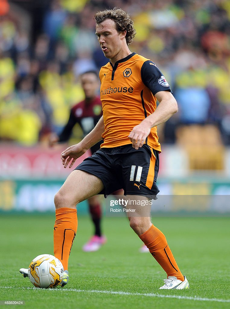 Kevin McDonald of Wolverhampton Wanderers during the Sky Bet Championship match between Wolverhampton Wanderers and Norwich City at the Molineux Stadium on August 10, 2014 in Wolverhampton, England.