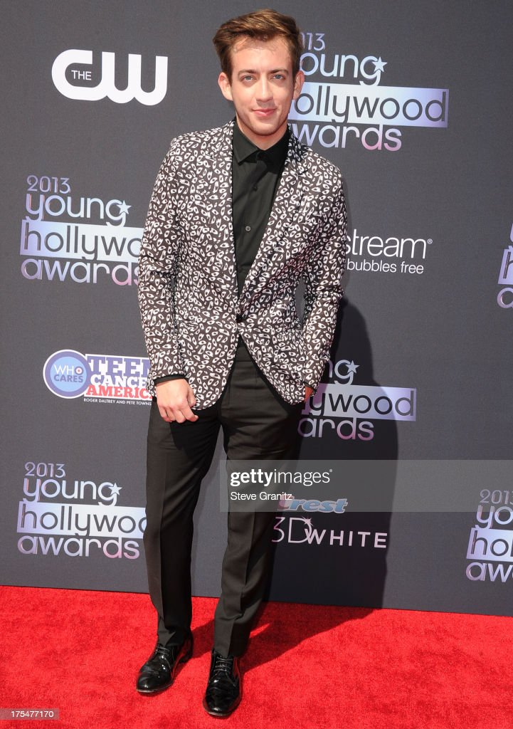 Kevin McHale arrives at the 15th Annual Young Hollywood Award at The Broad Stage on August 1, 2013 in Santa Monica, California.