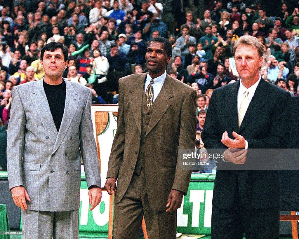 Celtics Retire Robert Parish s Number