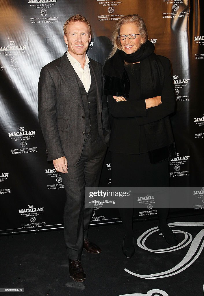 <a gi-track='captionPersonalityLinkClicked' href=/galleries/search?phrase=Kevin+McKidd&family=editorial&specificpeople=808099 ng-click='$event.stopPropagation()'>Kevin McKidd</a> and Annie Lebovitz attend The Macallan Masters Of Photography Series launch at The Bowery Hotel on October 10, 2012 in New York City.