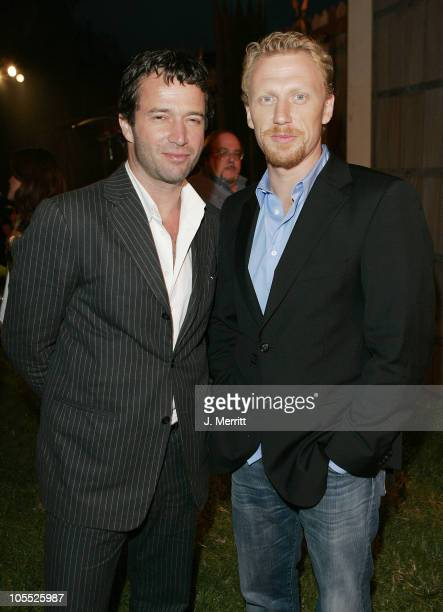 Kevin McKidd and James Purefoy of 'Rome' during 2005 TCA HBO Networks 'Rome' After Party at The Wadsworth Theatre Great Lawn in Beverly Hills...