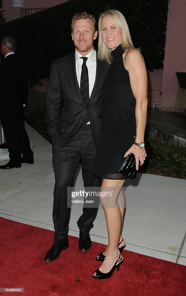 <a gi-track='captionPersonalityLinkClicked' href=/galleries/search?phrase=Kevin+McKidd&family=editorial&specificpeople=808099 ng-click='$event.stopPropagation()'>Kevin McKidd</a> and wife Jane Parker arrive at 23rd Annual Chris Evert/Raymond James Pro-Celebrity Tennis Classic Gala at Boca Raton Resort on October 27, 2012 in Boca Raton, Florida.
