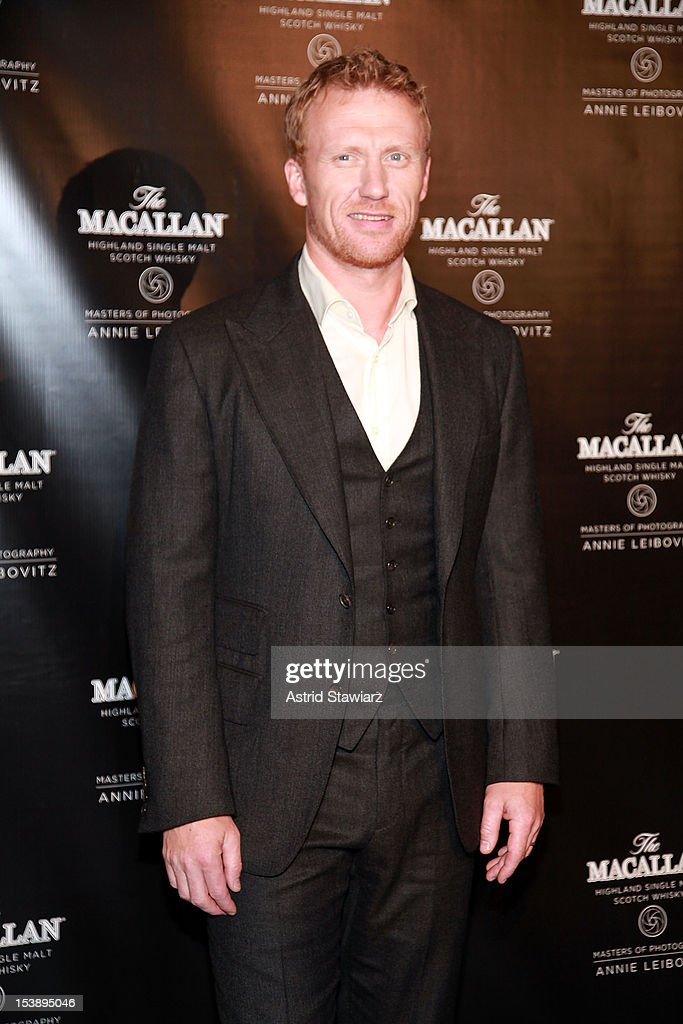 Kevin McKidd attends The Macallan Masters Of Photography Series at The Bowery Hotel on October 10, 2012 in New York City.