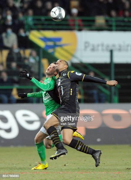 EMERSON / Kevin MIRALLAS Saint Etienne / Lille 27e journee de Ligue 1
