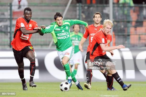Kevin MIRALLAS Saint Etienne / Rennes 13eme journee de Ligue 1