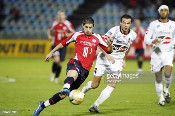 Kevin MIRALLAS Lille / Nice 14eme journee de Ligue 1