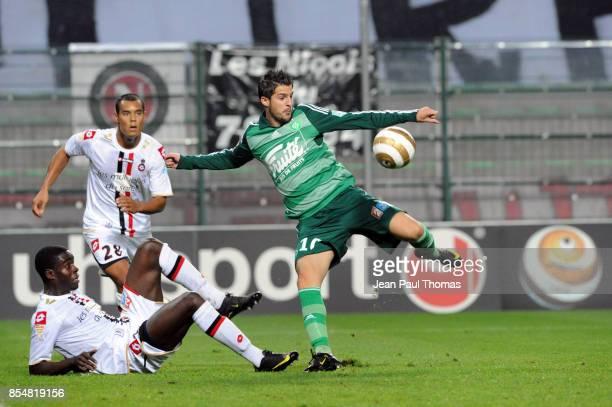 Kevin MIRALLAS Saint etienne / Nice Coupe de la Ligue 2009/2010