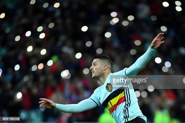 Kevin Mirallas forward of Belgium during the International Friendly Match before the FIFA World Cup 2018 in Russia between Russia and Belgium on...
