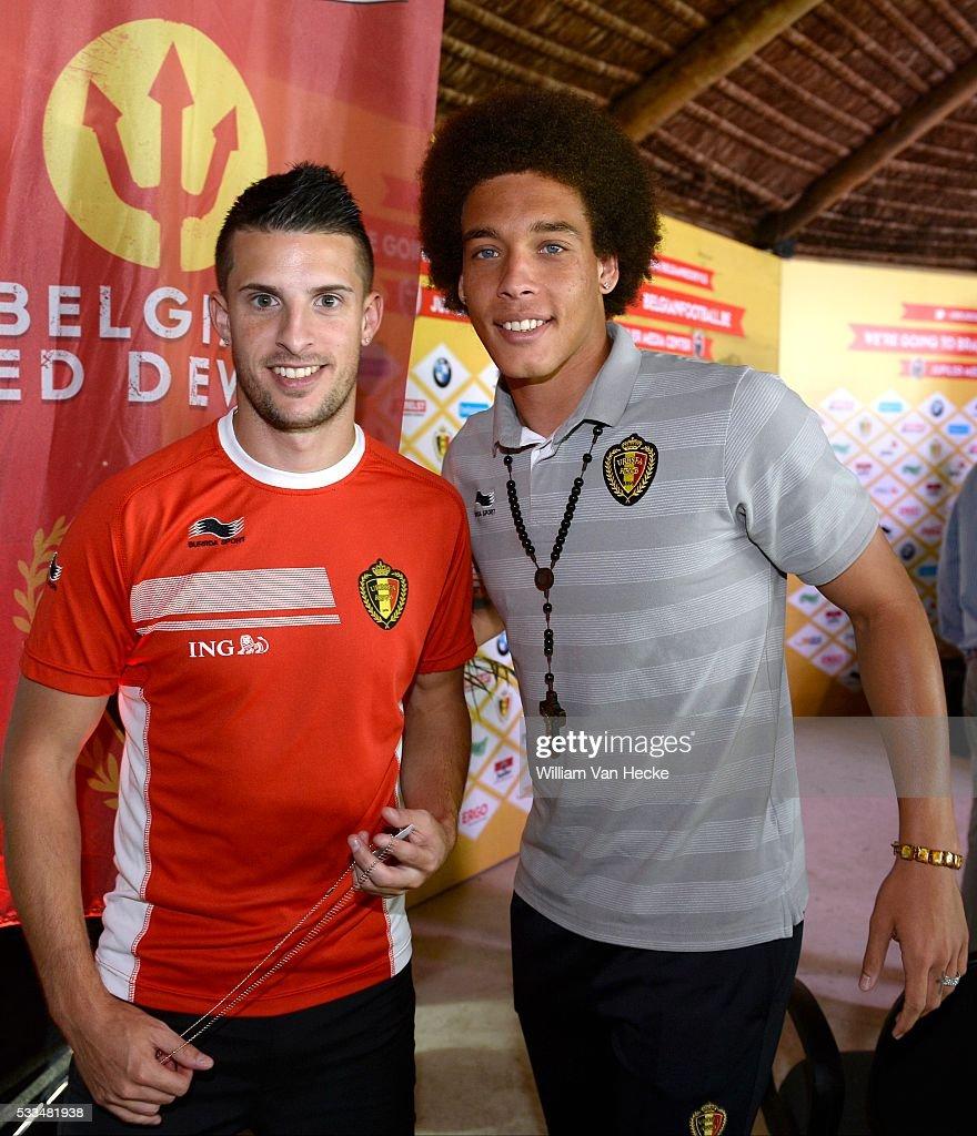 Training National Soccer Team of Belgium