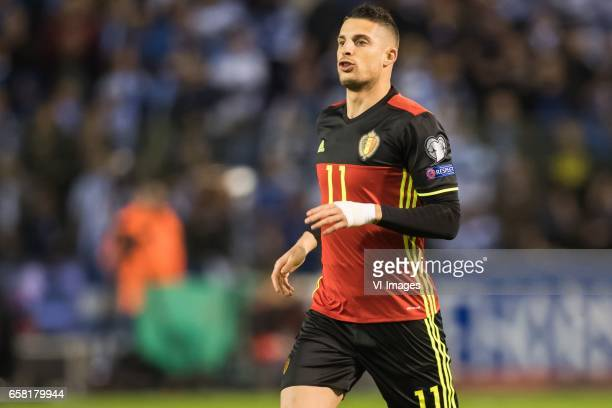 Kevin Mirallas of Belgiumduring the FIFA World Cup 2018 qualifying match between Belgium and Bosnie Herzegowina on October 07 2016 at the Koning...