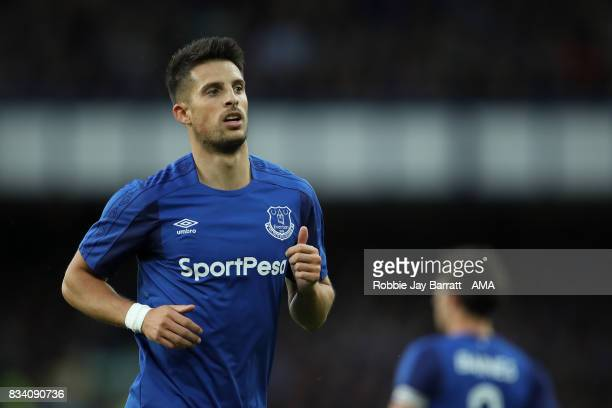 Kevin Mirallas of Everton during the UEFA Europa League Qualifying PlayOffs round first leg match between Everton FC and Hajduk Split at Goodison...