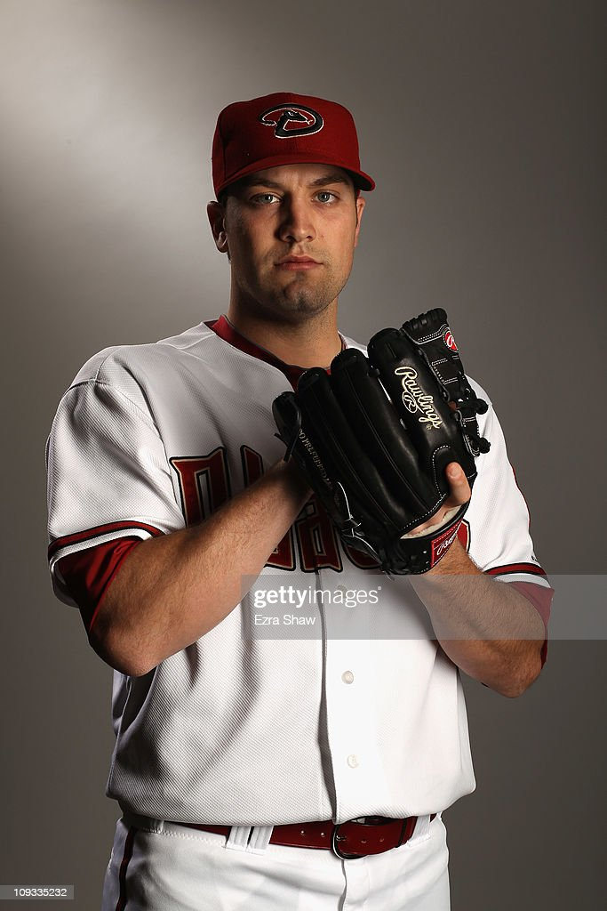 Kevin Mulvey #57 of the Arizona Diamondbacks poses for a portrait at Salt River Fields at Talking Stick on February 21, 2011 in Scottsdale, Arizona.
