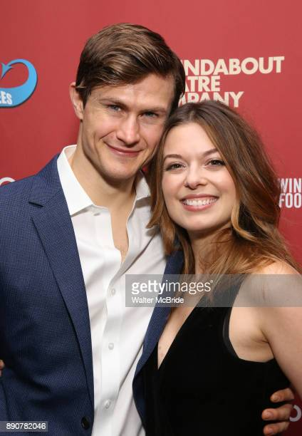 Kevin Munhall and Margo Seibert attend the cast party for the Roundabout Theatre Company presents a OneNight Benefit Concert Reading of 'Damn...