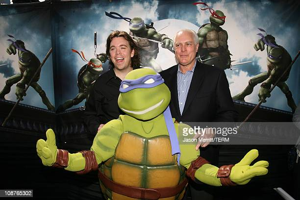Kevin Munroe director of TMNT and Thomas K Gray producer of TMNT