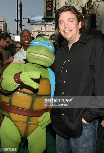 Kevin Munroe director of TMNT during 'TMNT' Los Angeles Premiere Red Carpet at Grauman's Chinese Theatre in Hollywood California United States