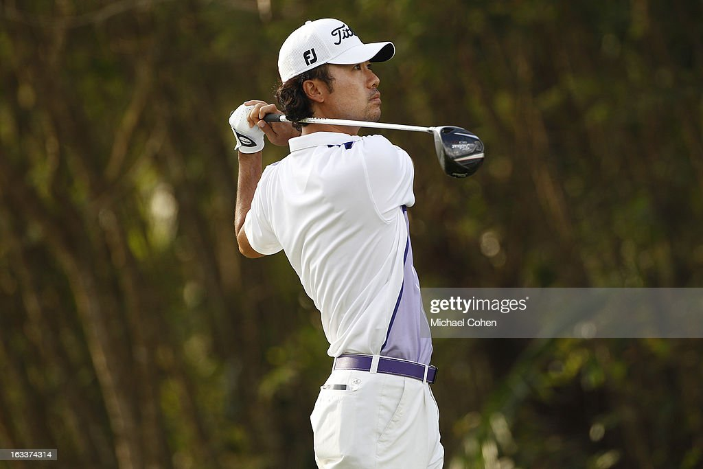 Kevin Na hits his drive on the third hole during the second round of the Puerto Rico Open presented by seepuertorico.com held at Trump International Golf Club on March 8, 2013 in Rio Grande, Puerto Rico.