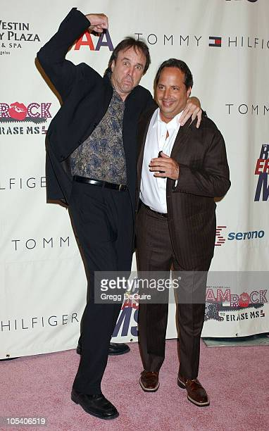 Kevin Nealon and Jon Lovitz during 11th Annual Race To Erase MS Gala Arrivals at The Westin Century Plaza Hotel in Los Angeles California United...