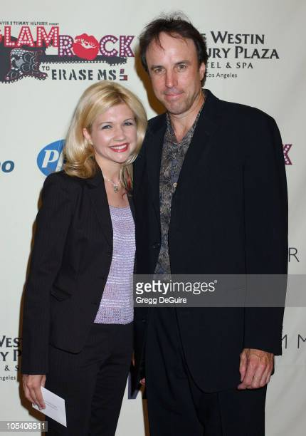 Kevin Nealon and Susan Yeagley during 11th Annual Race To Erase MS Gala Arrivals at The Westin Century Plaza Hotel in Los Angeles California United...
