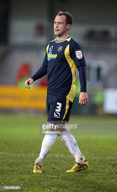 Kevin Nicholson of Torquay United in action during the npower League Two match between Torquay United and Northampton Town at Plainmoor on December...