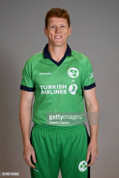 Kevin O'Brien of Ireland poses for a portrait at The Brightside Ground on May 4 2017 in Bristol England