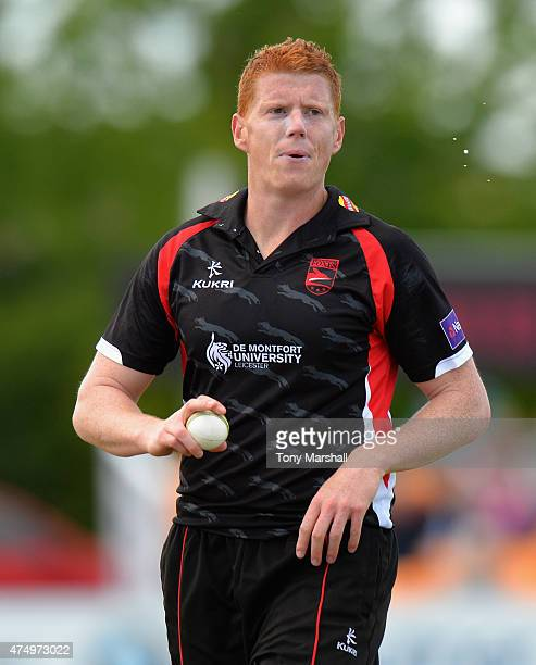 Kevin O'Brien of Leicestershire Foxes during the NatWest T20 Blast match between Leicestershire Foxes and Durham Jets at Grace Road on May 28 2015 in...