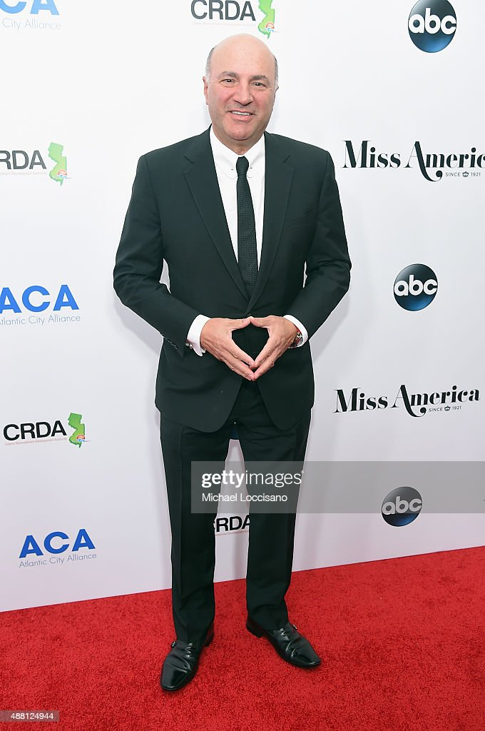 Kevin O'Leary attends the 2016 Miss America Competition at Boardwalk Hall Arena on September 13, 2015 in Atlantic City, New Jersey.