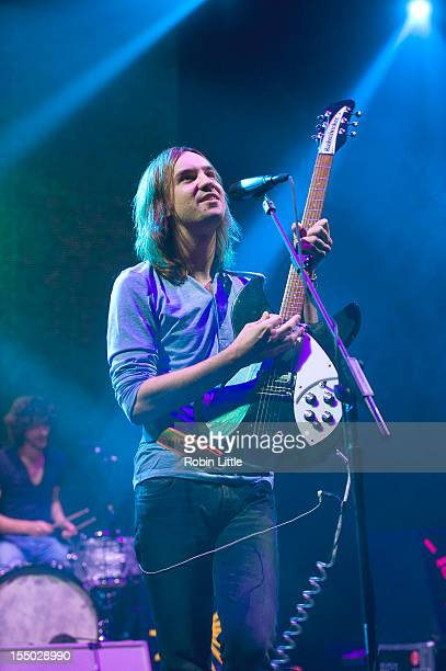 Kevin Parker of Tame Impala performs on stage at Brixton Academy on October 30 2012 in London United Kingdom