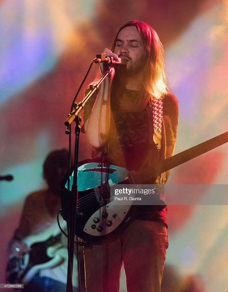 Kevin Parker of Tame Impala performs on stage during day 3 of the 3rd Annual Shaky Knees Music Festival at Atlanta Central Park on May 10 2015 in...