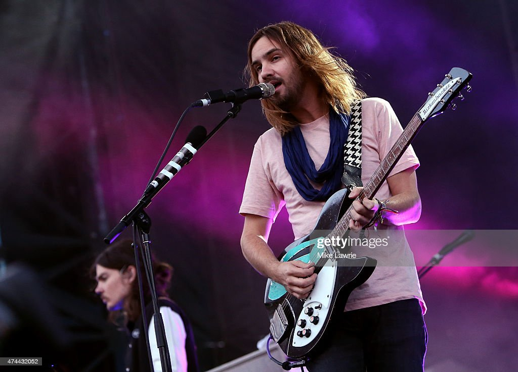 Kevin Parker of Tame Impala performs onstage during Boston Calling Music Festival Day 1 at Boston City Hall Plaza on May 22 2015 in Boston...