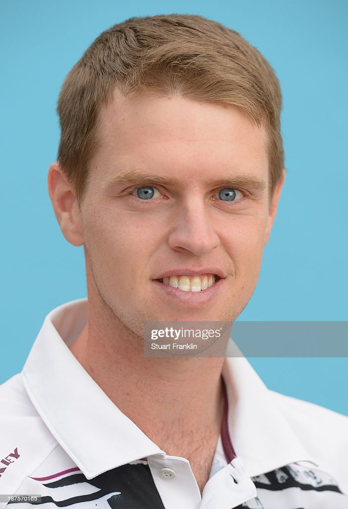 Kevin Phelan of Ireland poses for a photograph during the first round of European Tour qualifying school final stage at PGA Catalunya Resort on November 10, 2013 in Girona, Spain.