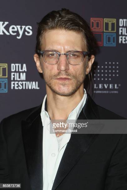 Kevin Phillips attends the DTLA Film Festival Premiere Of The Orchard's 'Super Dark Times' at Regal 14 at LA Live Downtown on September 25 2017 in...