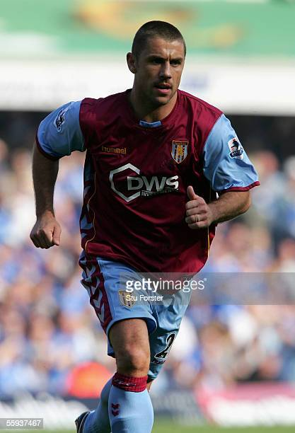 Kevin Phillips of Aston Villa during the Barclays Premiership match between Birmingham City and Aston Villa at St Andrews on October 16 2005 in...