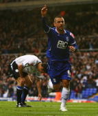 Kevin Phillips of Birmingham celebrates his goal during the CocaCola Championship match between Birmingham City and Sheffield Wednesday at St Andrews...