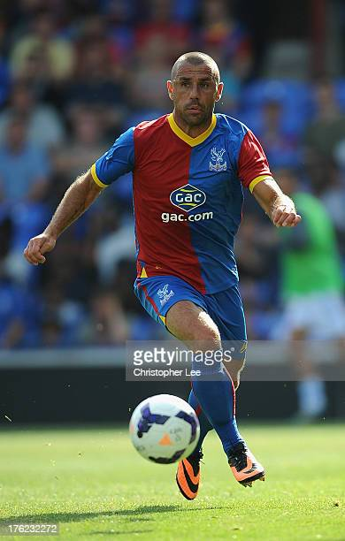 Kevin Phillips of Crystal Palace during a Pre Season Friendly between Crystal Palace and Lazio at Selhurst Park on August 10 2013 in London England