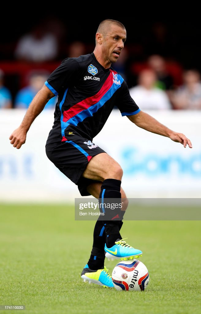 Kevin Phillips of Crystal Palace in action during a pre season friendly match between Dagenham and Redbridge and Crystal Palace at The London Borough of Barking and Dagenham Stadium on July 20, 2013 in Dagenhm, England.