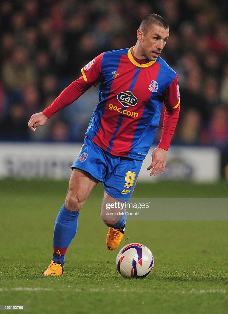 Kevin Phillips of Crystal Palace in action during the npower Championship match between Crystal Palace and Hull City at Selhurst Park on March 5, 2013 in London, England.