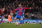Kevin Phillips of Crystal Palace scores a penalty during the npower Championship match between Crystal Palace and Hull City at Selhurst Park on March...