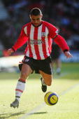 Kevin Phillips of Southampton in action during the Barclays Premiership match between Southampton and Charlton Athletic on December 26 2004 at the St...